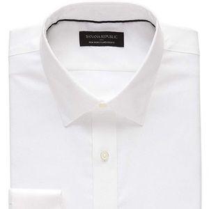 Banana Republic men's white shirt size medium nwot